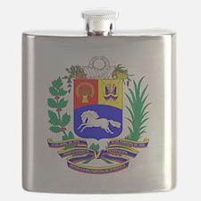 Venezuela COA Flask