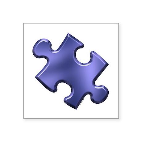 Puzzle Piece Ala Carte 1.4 (Blue) Sticker