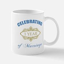Celebrating 1 Year Of Marriage Mug