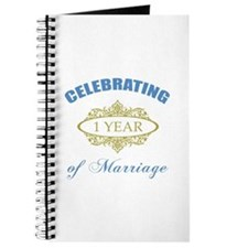 Celebrating 1 Year Of Marriage Journal