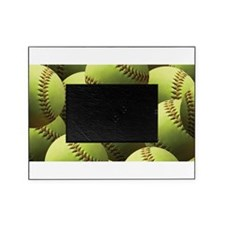 Softball Wallpaper Picture Frame