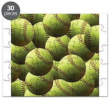 Softball Wallpaper Puzzle
