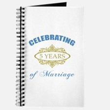 Celebrating 5 Years Of Marriage Journal