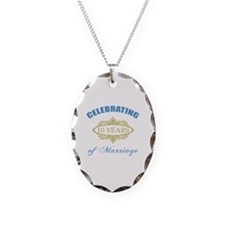 Celebrating 10 Years Of Marriage Necklace