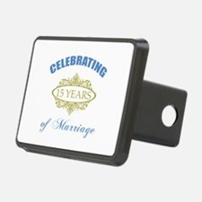 Celebrating 15 Years Of Marriage Hitch Cover