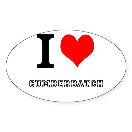 I heart cumberbatch Sticker