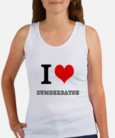 I heart cumberbatch Tank Top
