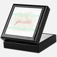 Sparkle Keepsake Box