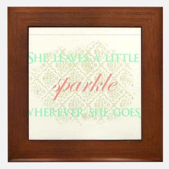 Sparkle Framed Tile
