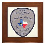 Texas Prison Framed Tile