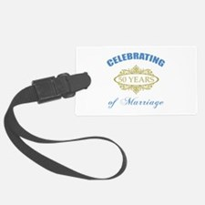 Celebrating 50 Years Of Marriage Luggage Tag