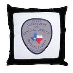 Texas Prison Throw Pillow