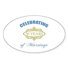 Celebrating 50 Years Of Marriage Decal