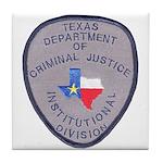 Texas Prison Tile Coaster