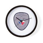 Texas Prison Wall Clock