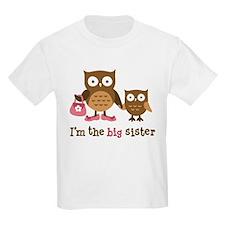 Big Sister - Mod Owl T-Shirt