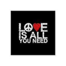 Love Is All Sticker