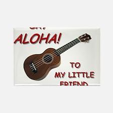 Say Aloha Rectangle Magnet
