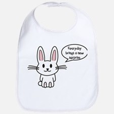 Everyday brings a new surprise Bib