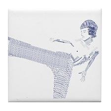 Bruce Lee Tile Coaster