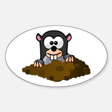 Cartoon Gopher Decal