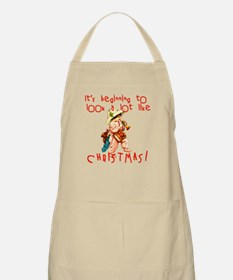 Beginning to Look Like Christmas Apron