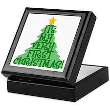 It's My First Christmas Keepsake Box
