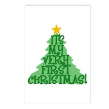 It's My First Christmas Postcards (Package of 8)