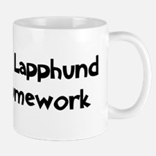 Finnish Lapphund ate my homew Mug