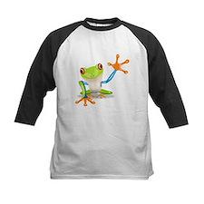 Green and Orange Frog Baseball Jersey