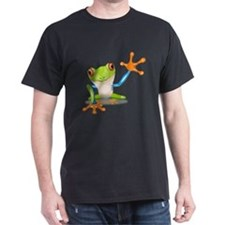 Green and Orange Frog T-Shirt