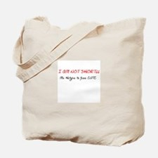 Short height aint a sign of worry Tote Bag