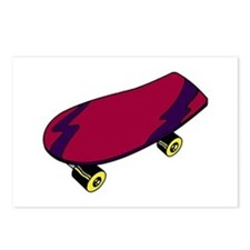 Skateboard Postcards (Package of 8)