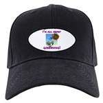 I'm All About Gardening Black Cap