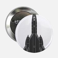 """Lockheed SR-71 Blackbird 2.25"""" Button"""