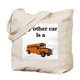 Bus driver Canvas Totes