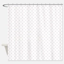 Pink Polka Dots Shower Curtain