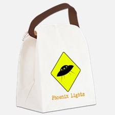 Phoenix Lights Canvas Lunch Bag
