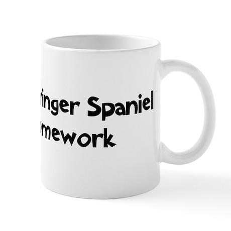 English Springer Spaniel ate Mug