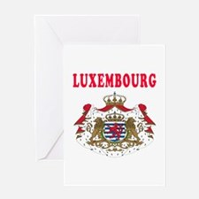 Luxembourg Coat Of Arms Designs Greeting Card