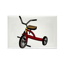 Tricycle Rectangle Magnet