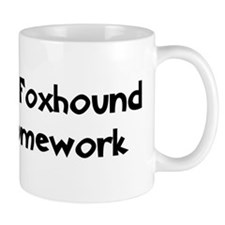 English Foxhound ate my homew Mug