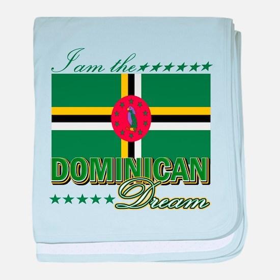Dominican 1.png baby blanket