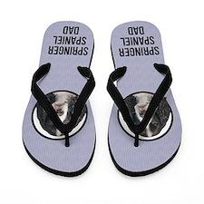 Springer Spaniel Dad Flip Flops
