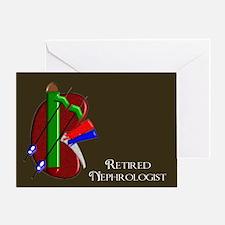 retired nephrologist 2 Greeting Card