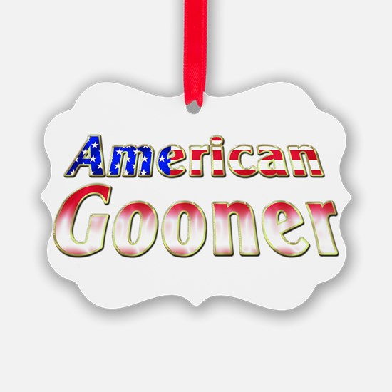 Arsenal American Gooner Ornament