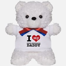 I love my Irish Step Dance Daddy Teddy Bear