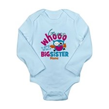 Personalized Big Sister - Owl Body Suit