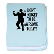 Funny Awesome designs baby blanket