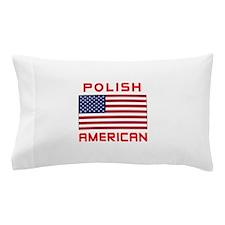 Polish American Flag Pillow Case